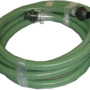 "25' x 2"" Suction Hose with Quick Connects"
