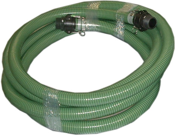 """25' x 2"""" Suction Hose with Quick Connects"""